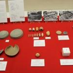 発掘された土器など